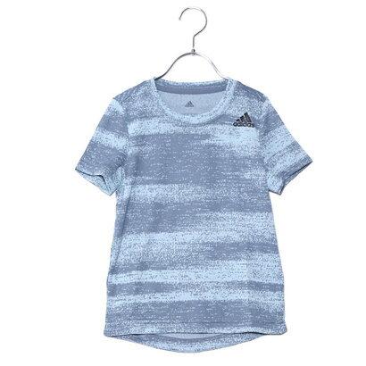 アディダス adidas ジュニア 半袖機能Tシャツ BTRNメランジTシャツ CF7111