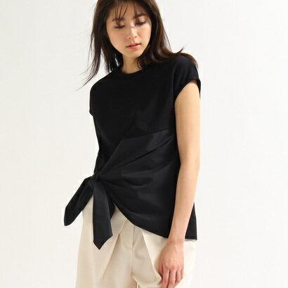 アクアガール aquagirl 【洗える】ツイストカットソー (ブラック)
