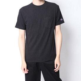 【アウトレット】イーブス サプライ YEVS supply Chanmpion 半袖ポケ付T (ブラック)