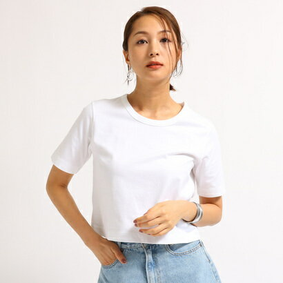 アクアガール aquagirl 【洗える】コンパクトTシャツ (ホワイト)