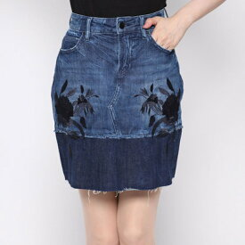 【アウトレット】ゲス GUESS LAUREL DENIM SKIRT (BLOSSOM BLUE)