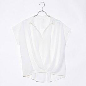 イーブス サプライ YEVS supply 裾タックドッキングシャツPOJ (ホワイト)