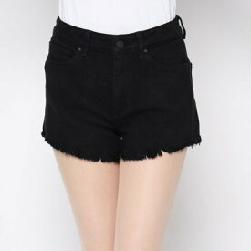 ゲス GUESS 1981 HIGH-RISE DENIM SHORT (OVERDYE BLACK)