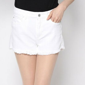 【アウトレット】ゲス GUESS 1981 HIGH-RISE DENIM SHORT (OPTIC WHITE)