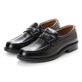 ブラッチャーノ Bracciano ビジネスシューズ メンズ 防水コインローファー 紳士靴 (BLACK)