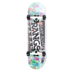 ラングスジャパン RANGS JAPAN エクストリームスポーツ ボード/スケート ラングスR1スケートボード ホワイト 106462