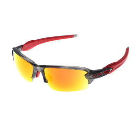3f3fb8af8d3 オークリー OAKLEY サングラス Flak 2.0 (A) Grey Smoke w  PRIZM Ruby 0OO9271-