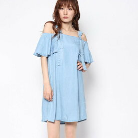 【アウトレット】ゲス GUESS LANA DENIM DRESS (SUMMER SEA WASH)