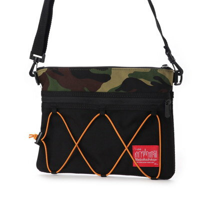 マンハッタンポーテージ Manhattan Portage BUNGEE Shoulder Bag (Black/W.Camo)