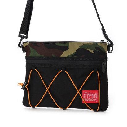 マンハッタンポーテージ Manhattan Portage BUNGEE Shoulder Bag (Black/W.Camo)