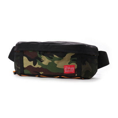マンハッタンポーテージ Manhattan Portage BUNGEE Fixie Waist Bag (Black/W.Camo)