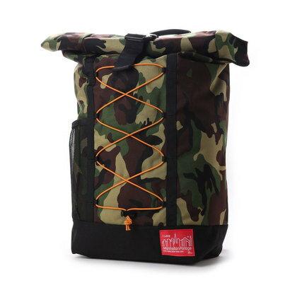 マンハッタンポーテージ Manhattan Portage BUNGEE Hillside Backpack (Black/W.Camo)