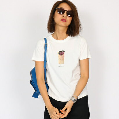 アクアガール aquagirl 【WEB限定】beautiful people ラップサンドTシャツ (ホワイト)