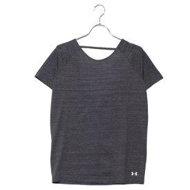 【アウトレット】アンダーアーマー UNDER ARMOUR レディース フィットネス 半袖Tシャツ UA Threadborne Seamless Spacedye SS 1323479