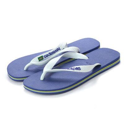 ハワイアナス havaianas BRASIL LOGO (kids sizes) (marine blue)