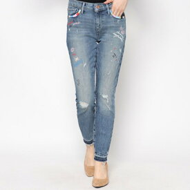 【アウトレット】ゲス GUESS MID-RISE NOVELTY SKINNY DENIM PANT (SUNSET WASH)