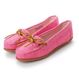 【アウトレット】ミネトンカ Minnetonka CANBAS Moccasin Shoes リミテッドエディション【限定生産品】 (ピンク)
