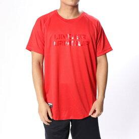 【アウトレット】アンダーアーマー UNDER ARMOUR メンズ 野球 半袖Tシャツ UA Big Logo Baseball Shirt 1319742