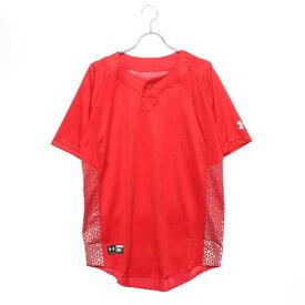 【アウトレット】アンダーアーマー UNDER ARMOUR メンズ 野球 半袖Tシャツ UA Stand Collar BB Shirt 1319743