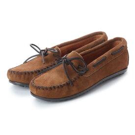 【アウトレット】ミネトンカ Minnetonka CLASSIC Moccasin Shoes (ブラウン)