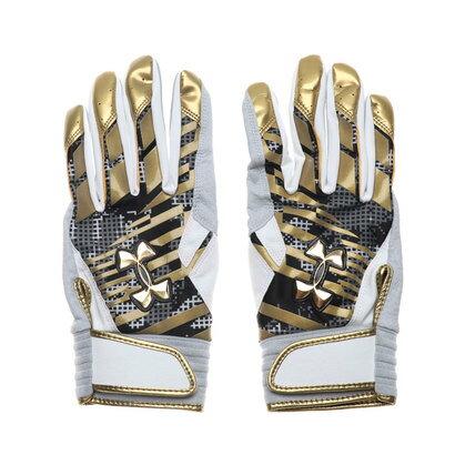 アンダーアーマー UNDER ARMOUR メンズ 野球 バッティング用手袋 UA UNDENIABLE B GLOVE 1313596