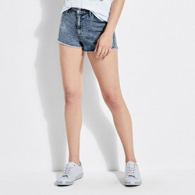 【アウトレット】ゲス GUESS CANDY ACID-WASH CUTOFF SHORT (BLEACHED BLUE)