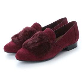 【アウトレット】アンタイトル シューズ UNTITLED shoes パンプス (ワインスエードコンビ)