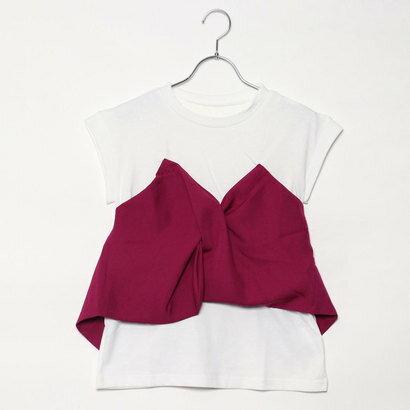 スタイルブロック STYLEBLOCK ツイルビスチェドッキングTシャツ (パープル)