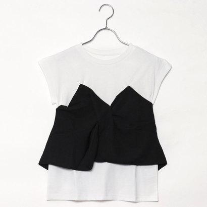 スタイルブロック STYLEBLOCK ツイルビスチェドッキングTシャツ (ブラック)