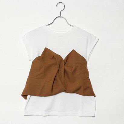 スタイルブロック STYLEBLOCK ツイルビスチェドッキングTシャツ (ベージュ)