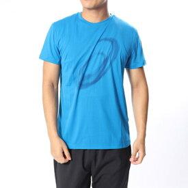 【アウトレット】アシックス asics ハンドボール 半袖プラクティスシャツ ランニンググラフイツクSSトツプ 2011A076