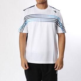 【アウトレット】ディアドラ Diadora メンズ テニス 半袖Tシャツ CSCグラフィックトップ DTP8583