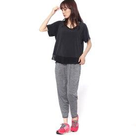 【アウトレット】フィラ FILA レディース フィットネス チュニックシャツ Tシャツ・キャミ・ルーズボトム3点セット 348573 1