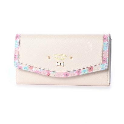 プリムヴェールリズリサ Primevere LIZ LISA メイプル 花柄フレーム長財布 (ホワイト)