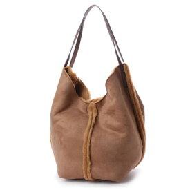 【アウトレット】クーコ COOCO ムートン調2WAYショルダーバッグ【A4サイズ対応】