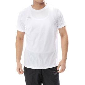 【アウトレット】アンブロ UMBRO メンズ 半袖機能Tシャツ CU ワンポイントS/Sシャツ UMULJA65