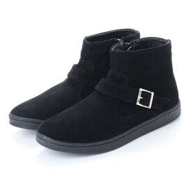 スタイルブロック STYLEBLOCK ベルト付きブーツ (ブラック×ブラック)