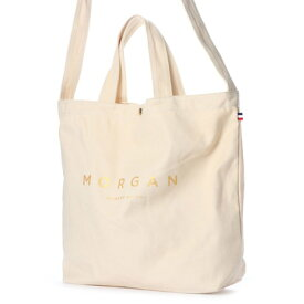 モルガン MORGAN モルガン【MORGAN】2WAYキャンバストート (ゴールド)