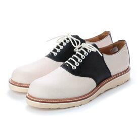 ディガウト DIGOUT BILLY (Saddle Oxford Shoes) (BLACK-COMBI)
