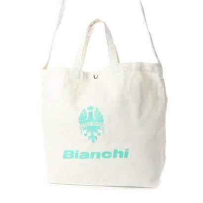 ビアンキ【Bianchi】ロゴ入りキャンバス (チェレステ)