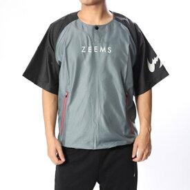 ジームス ZEEMS 野球 半袖ウインドブレーカー 半袖ピステ BP-78G