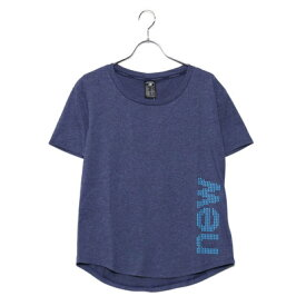 1108dbde126b5 ニューバランス new balance レディース フィットネス 半袖Tシャツ ヘザーテックショートスリーブTシャツ(グラフィック