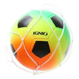 【アウトレット】イグニオ IGNIO トイボール ネオンボールミニ サッカー 9300050708