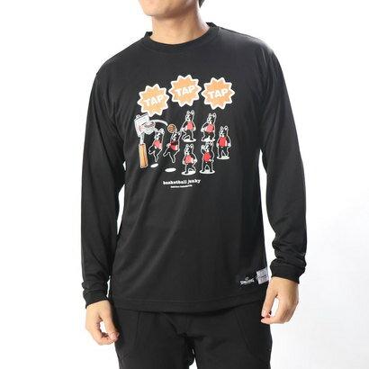 スポルディング SPALDING バスケットボール 長袖Tシャツ ロングDryTEE TAP TAP TAP BSK18602