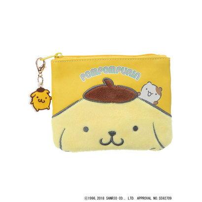 アースミュージックアンドエコロジー earth music&ecology Sanrio×earth ミニポーチ (Yellow)