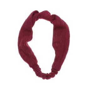 【アウトレット】ドレスキップ DRESKIP リボン風デザインヘアバンド (レッド)