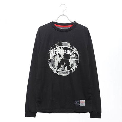 スポルディング SPALDING バスケットボール 長袖Tシャツ L/S Tシャツ MARBLE SMT181080