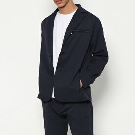 YZO カモフラージュテーラードジャケット(ネイビー)