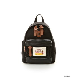 52925151776c カラーズバイジェニファースカイ アウトドア ミッキーシリーズ ミニリュック ブラック