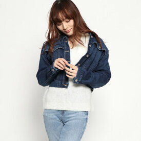 【アウトレット】ゲス GUESS RETRO CROPPED DENIM JACKET (COSIMA WASH)